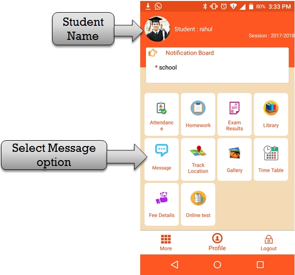 School SMS Software